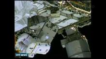 NASA astronauts launch new spacewalk