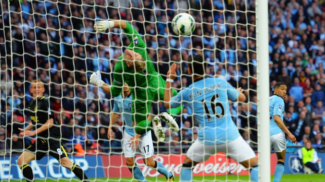 Ben Watson scores against City