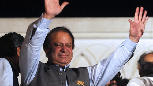 Nawaz Sharif has said the mistrust that has long dogged relations with India must be tackled.