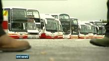 Bus Éireann stike disrupts 95% of services