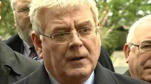 Polls suggest Eamon Gilmore's Labour Party is at its lowest level since 1987