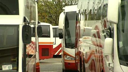 Tens of thousands of schoolchildren await bus tickets