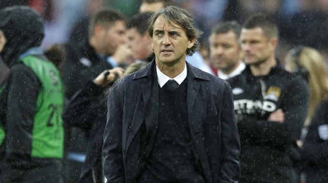 Roberto Mancini is reportedly set to be sacked before Tuesday's match against