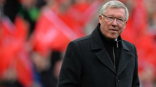 Alex Ferguson laughed off suggestions that he influenced referees