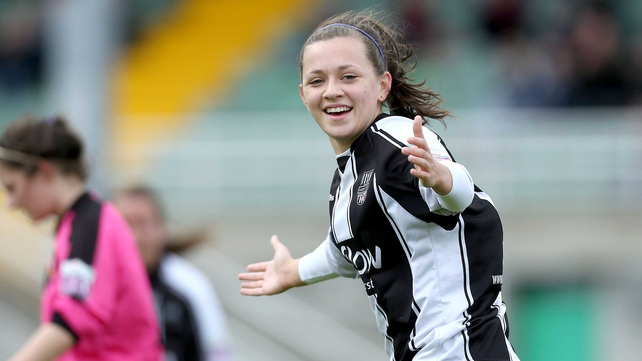 Katie McCabe bagged a goal and set up a second at Seaview