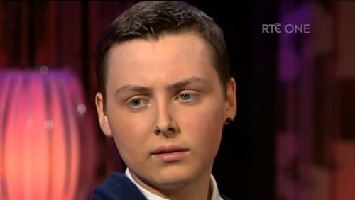 Donal Walsh spoke about his illness on RTÉ's The Saturday Night Show in April