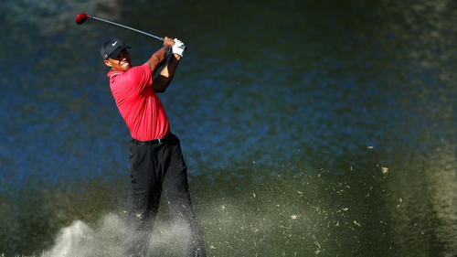 Tiger Woods won by two shots at Sawgrass