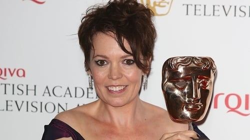 Olivia Colman - pictured after her recent double BAFTA win