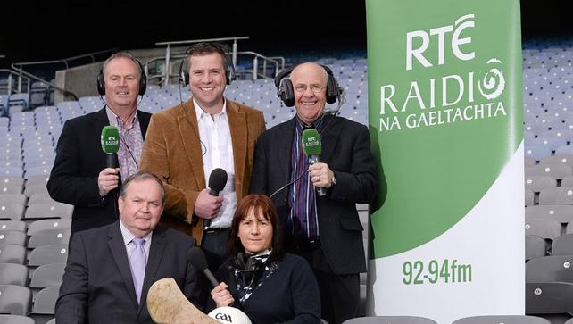 Craobhacha Peile agus Iomána 2013 ar RTÉ Raidió na Gaeltachta