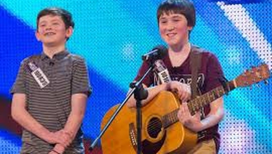 Irish boys sing on Britain Got Talent