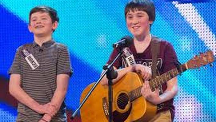 Irish boys sing on Britain Got Talent