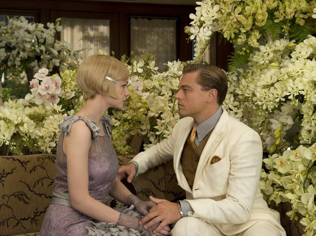 Jay Gatsby reaffirming his love for Daisy Buchanan - but will she reciprocate?