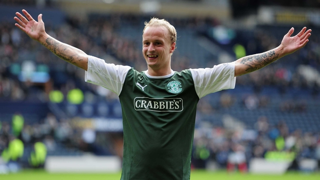 Leigh Griffiths has been a star performer for Hibernian this season