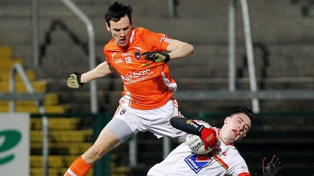 Mark Shields featured in the league campaign for Armagh