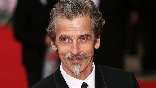 "Capaldi: ""Just like the Doctor, I'm emerging from the TARDIS into a whole other world."""