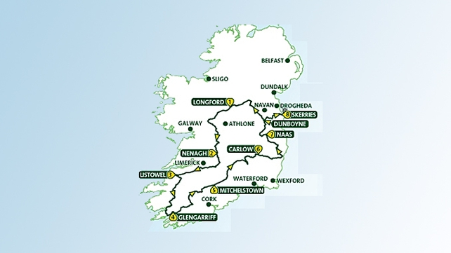 The 2013 edition of the An Post Rás comprises eight stages from 19-26 May