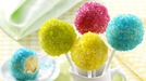 Neon Cake Pops - Cake Pops are always a great hit with children, so they are great for a birthday party!