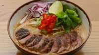 Wagamama chilli beef ramen - A delicious and filling main from Japan with a meat broth, special noodles and toppings of your choice