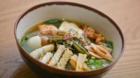 Wagamama seafood ramen - A delicious and filling main from Japan with a meat broth, special noodles and toppings of your choice