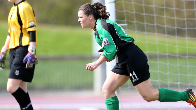 Sara Lawlor was on the scoresheet for Peamount
