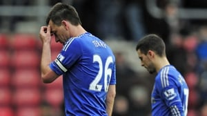 John Terry and Eden Hazard have been rested from the trip to Lisbon