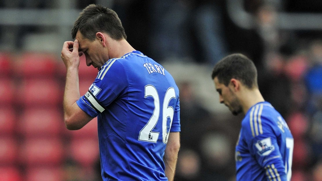 John Terry may be involved against Benfica but Eden Hazard (r) is out