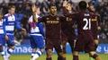 Aguero and Dzeko on target in City win