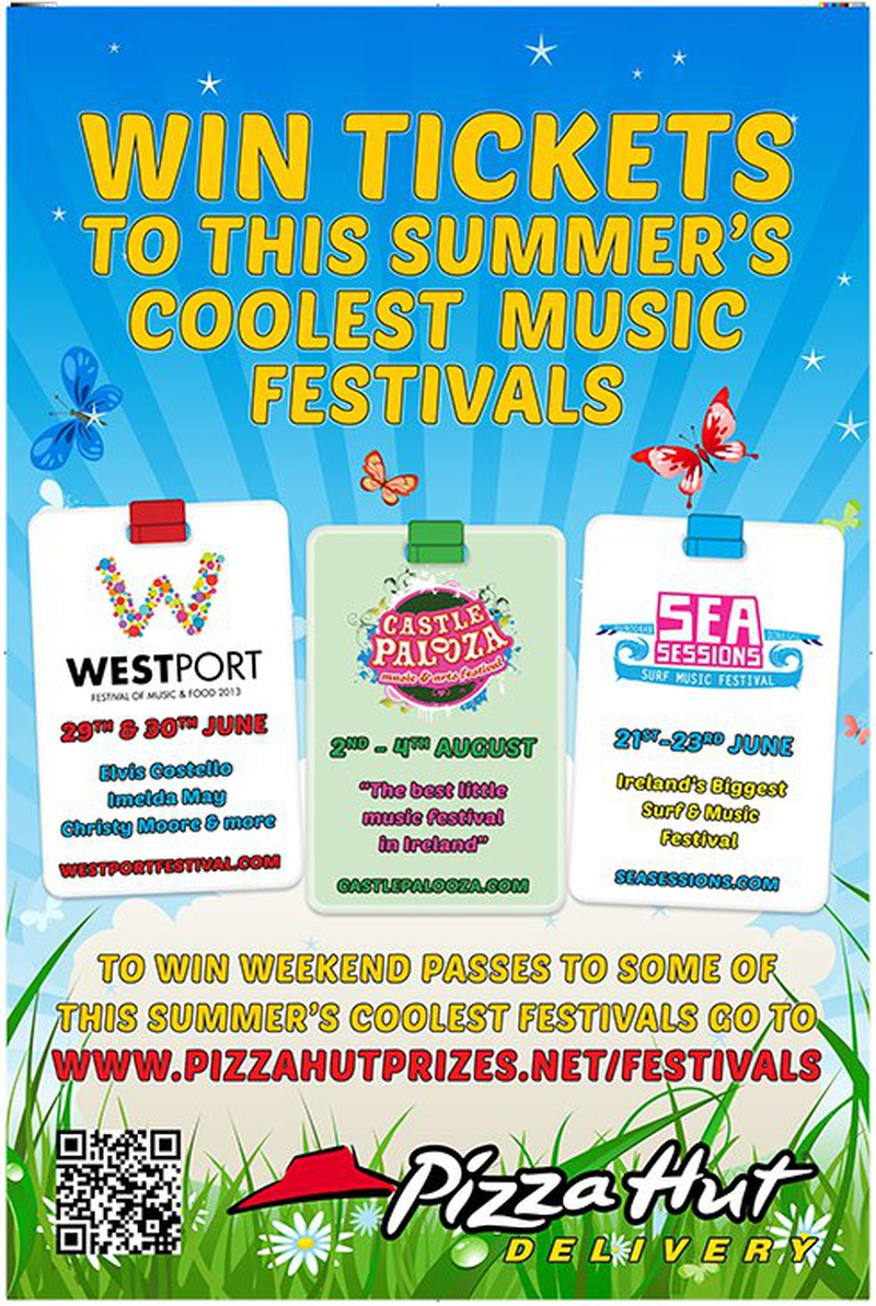 News: Pizza Hut Festival Giveaway