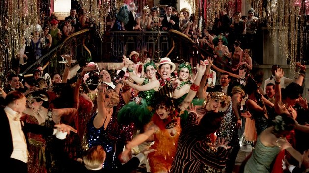 The Great Gatsby has some intoxicating party scenes