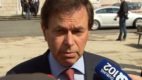 Alan Shatter was yesterday forced to reveal details of a checkpoint incident from a few years ago