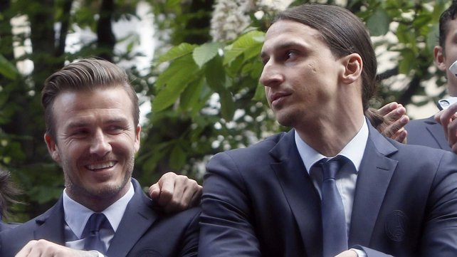 David Beckham will bow out after this spell with PSG
