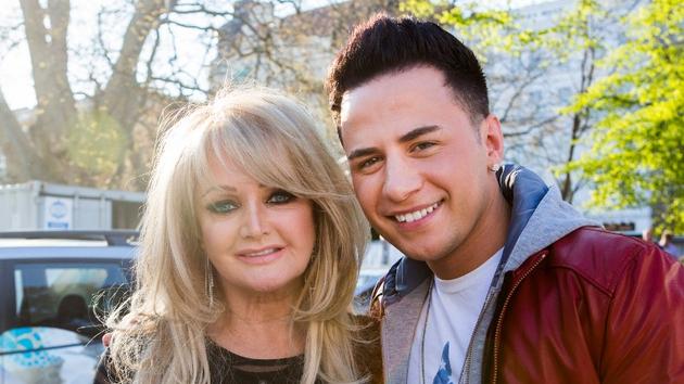 Bonnie Tyler, UK Eurovision hopeful with Irish singer Ryan Dolan