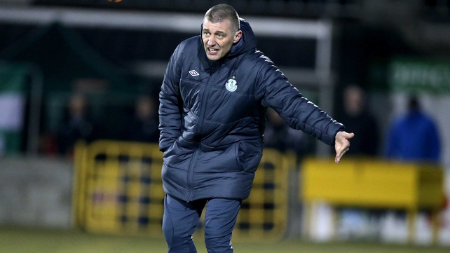 Trevor Croly's Shamrock Rovers will go top of the league if they beat Athlone Town