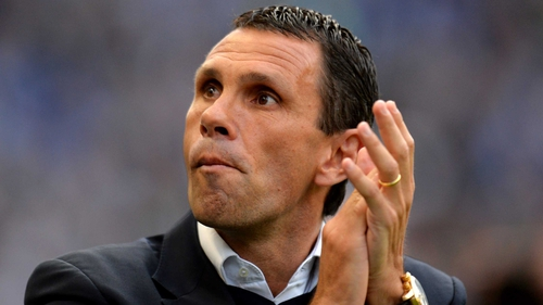 Gus Poyet has been suspended by his club