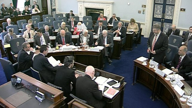 The Oireachtas Health Committee heard from medical representativ