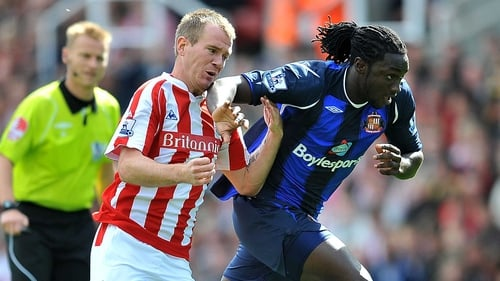 Glenn Whelan and Kenwyne Jones are believed to be the players involved in high jinks at Stoke