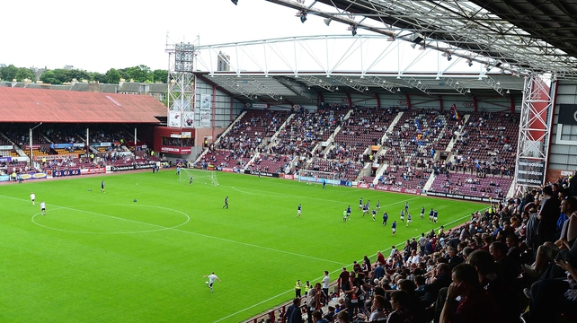 Hearts begin the season 15 points in arrears