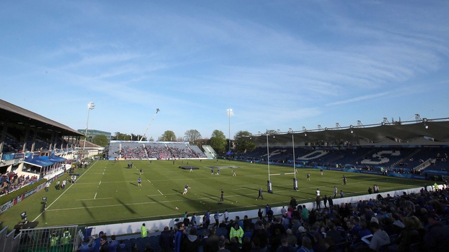 The RDS was bathed in sunshine for tonight's game