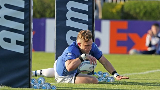 Ian Madigan scored a try after just four minutes