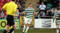 Pat McAuliffe reports on Shamrock Rovers 2-1 win over Cork City at Turner's.