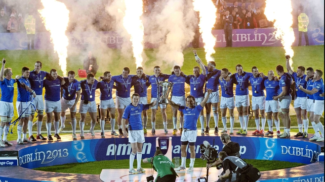 Leinster are the Amlin Challenge Cup champions for 2013