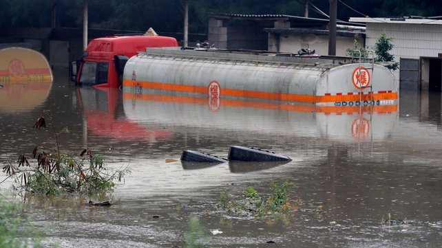 Ten people are still missing after the heavy rain in Guangdong Province