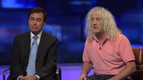 Alan Shatter revealed on RTÉ's Prime Time that Mick Wallace had escaped penalty points