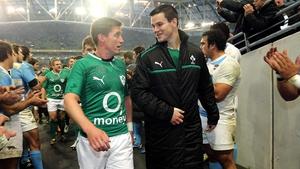 Ronan O'Gara will work with Jonathan Sexton as his kicking coach at Racing Metro next season