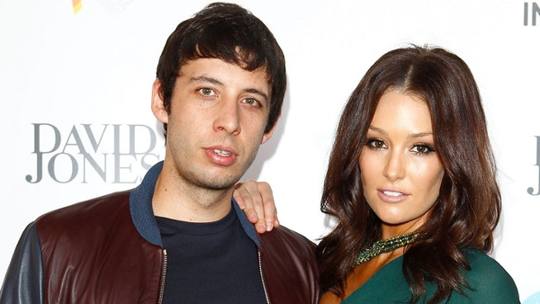 Example and wife Erin McNaught
