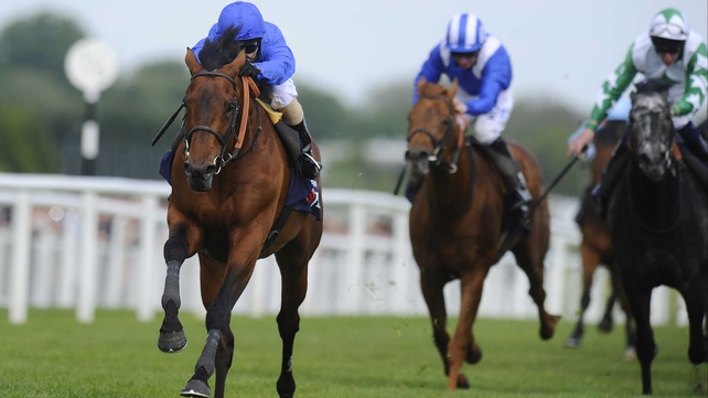 Farhh's victory gave trainer Saeed bin Suroor a fifth Lockinge victory.