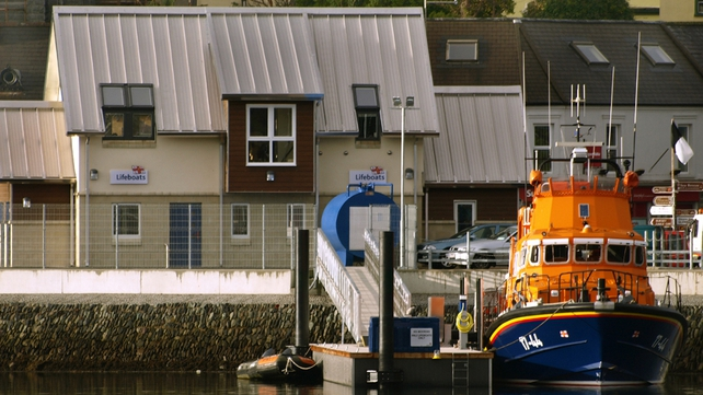 Lifeboat crew had been operating from a temporary base at Dinish Island