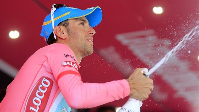 Vincenzo Nibali was the big winner after stage 14 despite giving best to Mauro Santambrogio