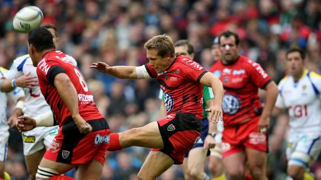 Jonny Wilkinson was named European player of the year yesterday