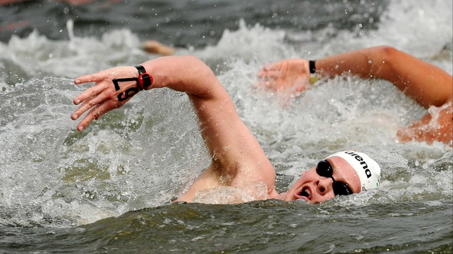 Chris Bryan placed 16th in the European Open Water Championships
